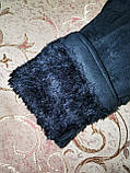 Замшс Арктический бархат с сенсором женские перчатки для работы на телефоне плоншете стильные только опт, фото 6