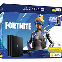 Sony PlayStation 4 Pro PS4 Pro 1TB + Fortnite (CUH-7216B)