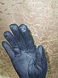 Замшс Арктический бархат с сенсором женские перчатки для работы на телефоне плоншете стильные только опт, фото 4