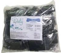 Трусики-стринги черные, Doily (50 шт) S/M