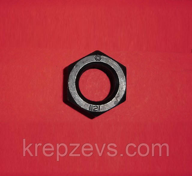 Гайка М24 шестигранная 12.0, DIN 934, ГОСТ 5915-70