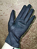 Замшс Арктический бархат женские перчатки стильные только опт, фото 5