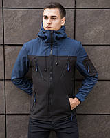 "Куртка демісезонна Pobedov Jacket ""Korol' Lev"" Navy-Black"