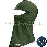 Балаклава Lasting Lox, зеленая (р.L/XL)