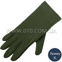 Перчатки шерстяные Lasting Rok, зеленые (р.L/XL)