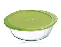 Форма стеклянная с крышкой круглая Cook&Store 208P000 Pyrex