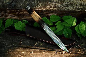 """Нож для туризма ручной работы """"Базовый"""", 40Х13, фото 2"""