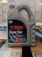 Моторное масло FUCHS TITAN SUPERSYN 5W-30 (4л.)для нагруженных бензиновых и дизельных двигателей
