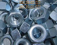 Гайка М16 ГОСТ 22354-77, ГОСТ Р 52645-2006 шестигранная высокопрочная