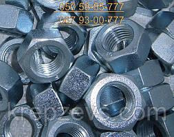 Гайка М16 ГОСТ 22354-77, ГОСТ Р 52645-2006 шестигранна високоміцна