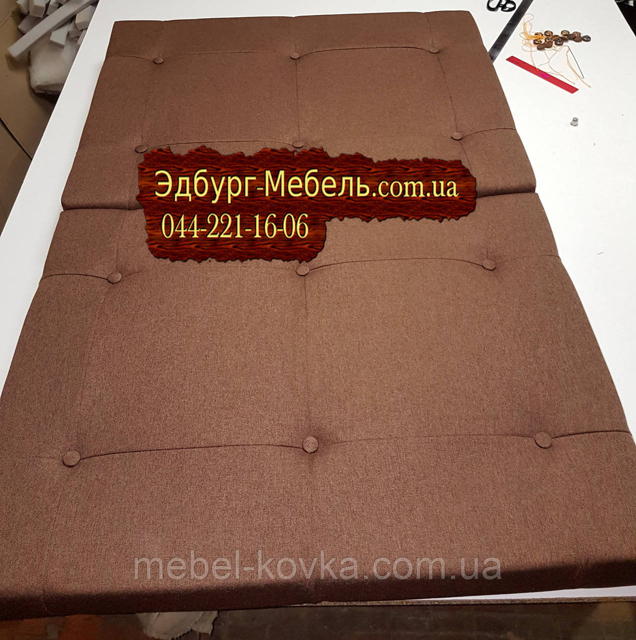 Подушки для прихожей с прошивкой