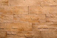 "Плитка Гипсовая ""DNISTER SANDSTONE""/KLVIV DEKOR (0.62 м.кв), фото 1"