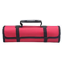 Автомобильная сумка для хранения инструментов с ручкой | Органайзер для инструментов | Красная Оксфорд
