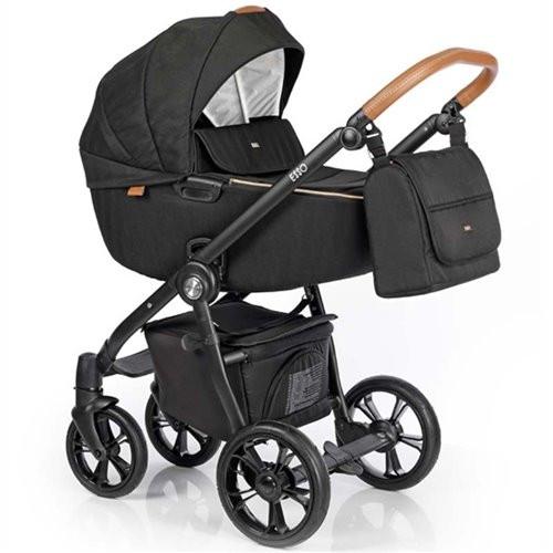 Roan Esso коляска 2 в 1, колір Caviar Black