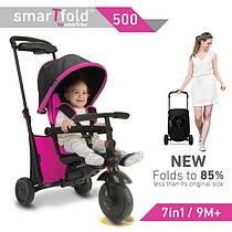 Smart Trike SmarTfold 500 трехколесный велосипед, цвет розовый