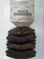 Передние торм. колодки OUTL, XL ;LAN X  2.0 MITSUBISHI 4605A730