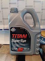 Масло моторное FUCHS TITAN SUPERSYN 5W-40 (4л.) для нагруженных бензиновых и дизельных двигателей