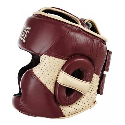 Боксерский шлем BENLEE Hopkins L (199106/2025) Бордовый, фото 2