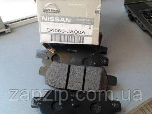 Задні гальмівні колодки X-TRAIL T30,NISSAN QASHQAI D4060-JA00A
