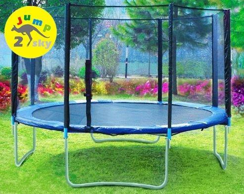 Батут для прыжков с сеткой Jump-2-sky 427 см