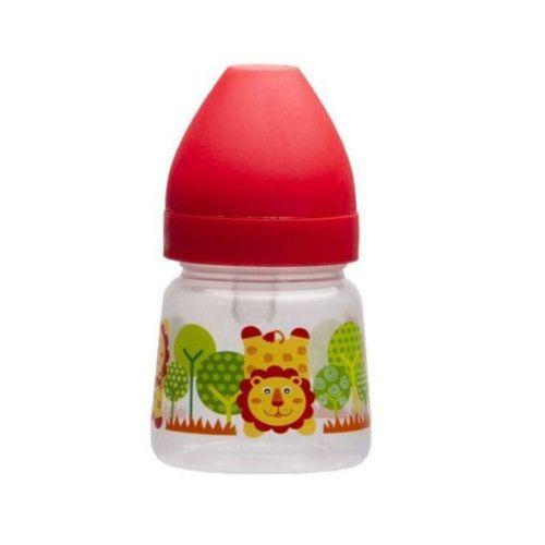 Бутылочка Akuku A0318 (125 мл.), цвет красный