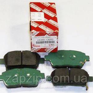 Передние тормозные колодки COROLLA TOYOTA 04465-13050