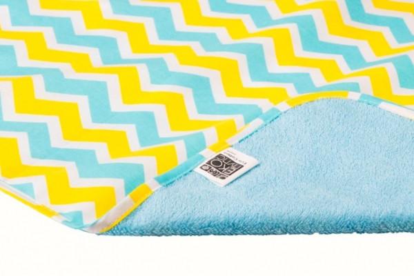Двухсторонняя непромокаемая пеленка Эко пупс Eco Cotton (50х70), в ассортиментне