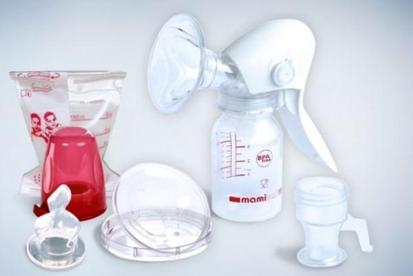 Двухфазный механический молокоотсос Mamivac Easy
