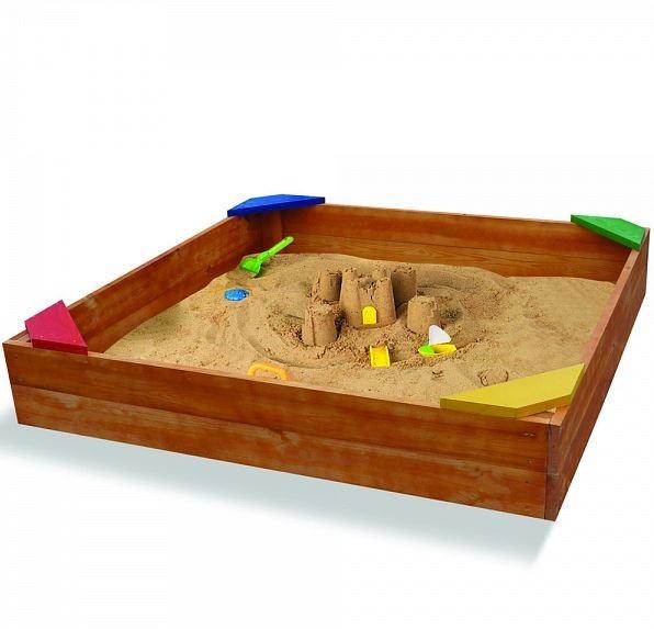 Деревянная песочница SportBaby