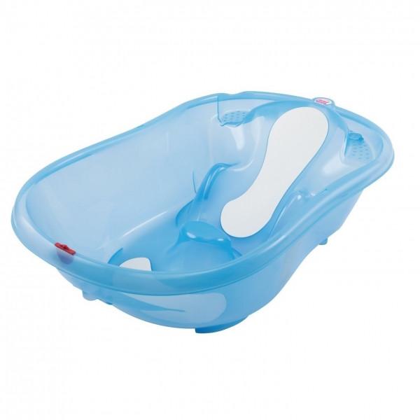 Детская ванночка Ok Baby Onda Evolution, цвет light blue
