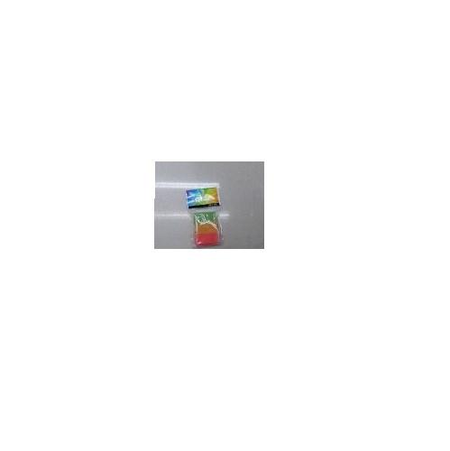 Стирательная резинка цветная40шт/уп, ST00026