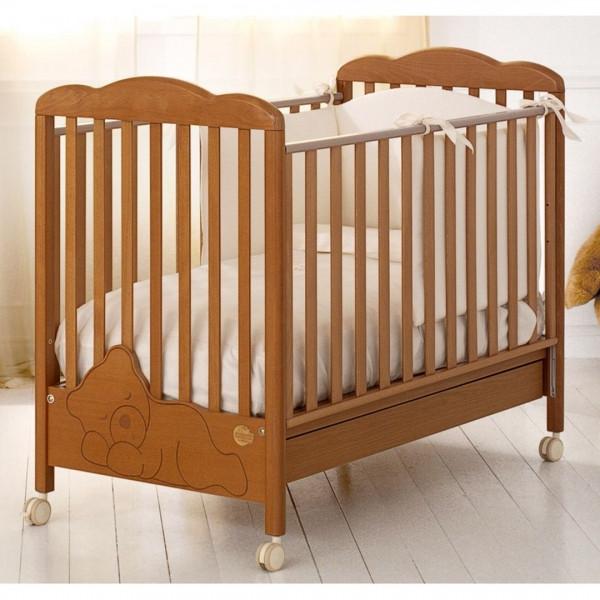 Детская кроватка Baby Expert Coccolo, цвет Ciliegio