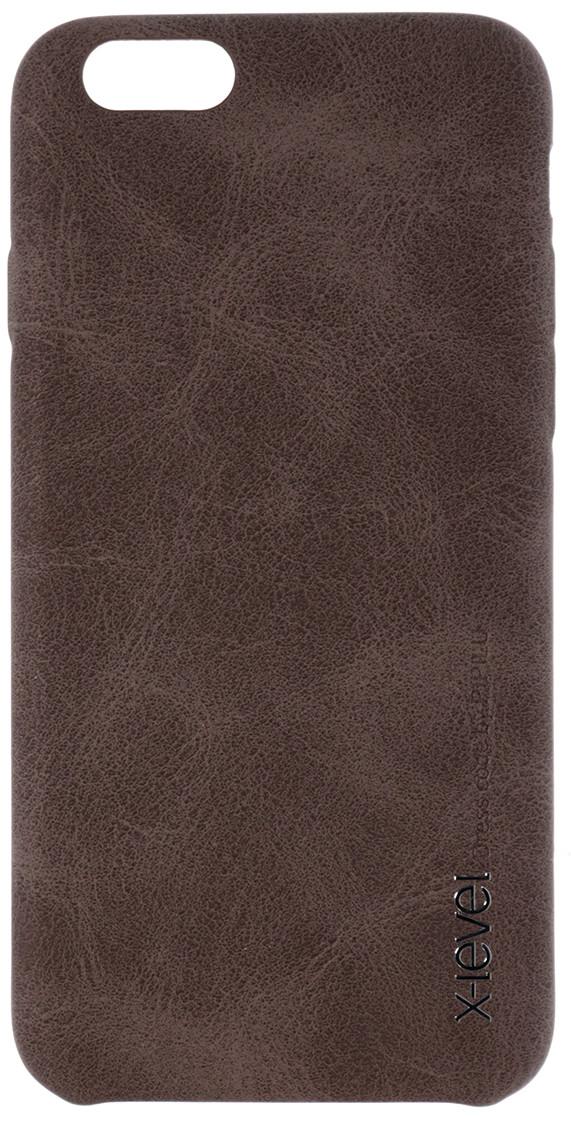Чохол для iPhone 6 / 6s X-Level Vintage Case Brown