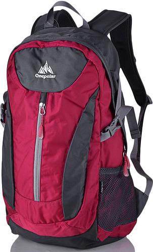 Спотривный рюкзак стильного дизайна 20 л. Onepolar W1802-red красный