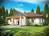 """Канадский дом 134 м кв. Проект """"Комфортный""""."""