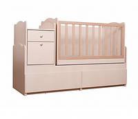 """Дитяче ліжечко-трансформер Вальтер """"Дадон"""", колір світлий"""