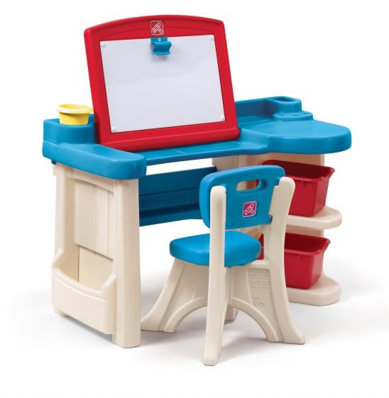 Детская парта-стол для творчества Step 2 Art Desk Refresh