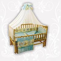 """Детские постельный комплект Homefort """"Бязь"""" (8 эл.), расцветки в ассортименте"""