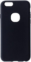 Чохол iPaky for iPhone 6 / 6s - Silicon-Leather Case Black