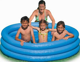 Детский бассейн Intex - Кристалл (168 см)