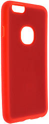 Чохол iPaky for iPhone 6 / 6s - Silicon-Leather Case Red