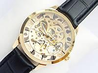 Мужские механические наручные часы скелетоны Omega, фото 1