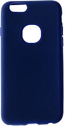 Чохол iPaky for iPhone 6 / 6s - Silicon-Leather Case Blue