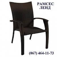 Стул Викер-2, стул плетеный, стул из искусственного ротанга