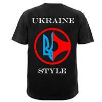 """Стильная футболка Киокушинкай """"Ukraine style"""", фото 1"""