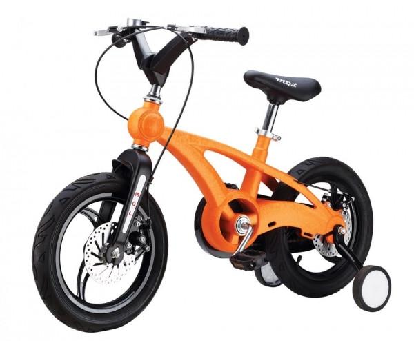 Детский велосипед Miqilong MQL-YD, цвет оранжевый