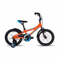 """Детский велосипед Pride Tiger 16"""", цвет оранжево-голубой"""