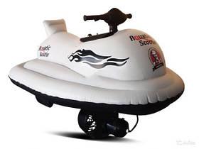 Детский гидроцикл Joy Automatic Aquatic scooter 250W, цвет белый