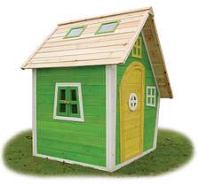 Детский игровой домик PlayHouses - Fantasia 100 Green (кедр)
