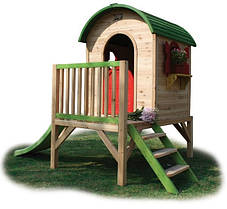 Детский игровой домик PlayHouses - Loco 300 (кедр)